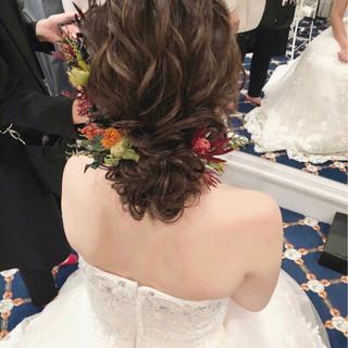 アンニュイ セミロング ゆるふわ フェミニン ヘアスタイルや髪型の写真・画像