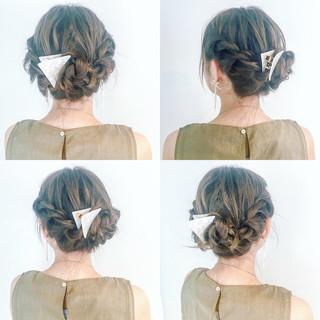 アウトドア ヘアアレンジ リラックス ショート ヘアスタイルや髪型の写真・画像