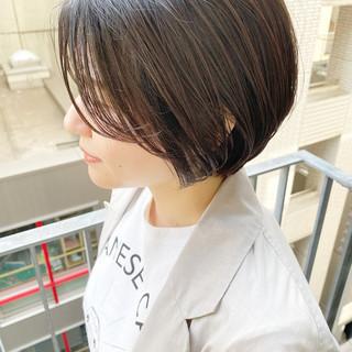 大人かわいい ショート ショートヘア ショートボブ ヘアスタイルや髪型の写真・画像