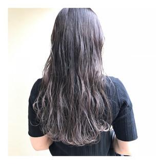 ナチュラル 透明感 ハイライト ハイトーンカラー ヘアスタイルや髪型の写真・画像