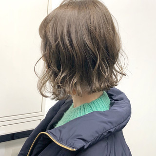 簡単ヘアアレンジ ナチュラル アンニュイほつれヘア ボブ ヘアスタイルや髪型の写真・画像 ヘアスタイルや髪型の写真・画像