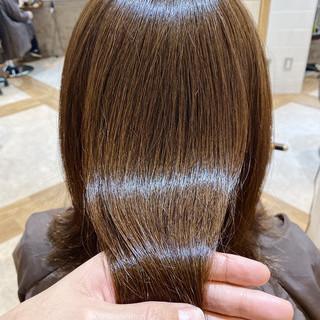 サイエンスアクア アンニュイほつれヘア 髪質改善カラー ナチュラル ヘアスタイルや髪型の写真・画像