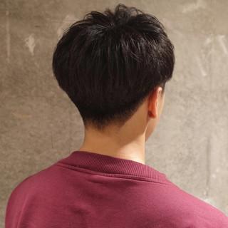 メンズ ナチュラル メンズショート 刈り上げ ヘアスタイルや髪型の写真・画像