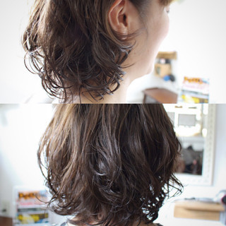 色気 ボブ 外国人風 ゆるふわ ヘアスタイルや髪型の写真・画像