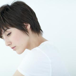 フェミニン ショートボブ 大人かわいい ショート ヘアスタイルや髪型の写真・画像
