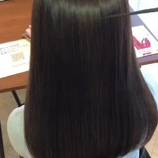艶髪 ナチュラル 髪の病院 ロング ヘアスタイルや髪型の写真・画像