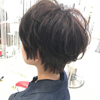 エアリー 大人かわいい ショートボブ ナチュラル ヘアスタイルや髪型の写真・画像