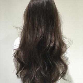 ブラウン 外国人風 暗髪 アッシュ ヘアスタイルや髪型の写真・画像 ヘアスタイルや髪型の写真・画像
