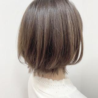 似合わせカット ブランジュ ボブ 大人女子 ヘアスタイルや髪型の写真・画像