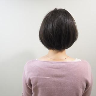 アッシュグレージュ ショート ショートボブ アッシュベージュ ヘアスタイルや髪型の写真・画像