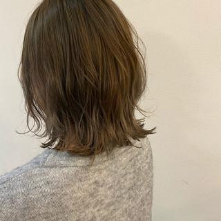 透明感カラー ウルフカット 圧倒的透明感 ブリーチオンカラー ヘアスタイルや髪型の写真・画像