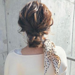 エレガント お団子 お団子ヘア 韓国ヘア ヘアスタイルや髪型の写真・画像