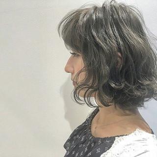 ストリート 暗髪 ボブ 外国人風 ヘアスタイルや髪型の写真・画像