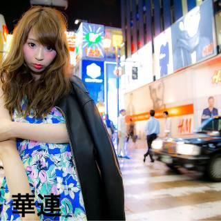 外国人風 パーティ ヘアアレンジ ロング ヘアスタイルや髪型の写真・画像