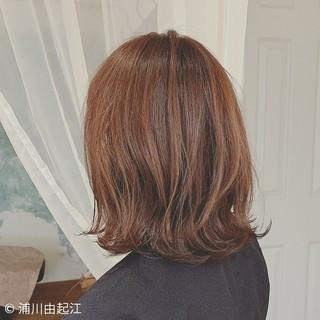 ボブ 切りっぱなしボブ デート 秋冬ショート ヘアスタイルや髪型の写真・画像