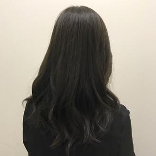 透明感 オフィス 秋 ナチュラル ヘアスタイルや髪型の写真・画像 ヘアスタイルや髪型の写真・画像