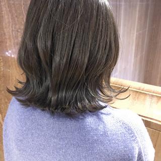 デート ボブ 西海岸風 外国人風カラー ヘアスタイルや髪型の写真・画像