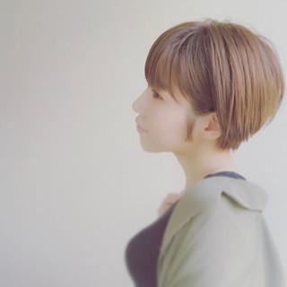 似合わせ モテ髪 ナチュラル 小顔 ヘアスタイルや髪型の写真・画像