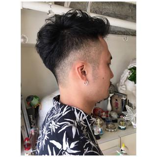 ナチュラル ボーイッシュ 刈り上げ メンズ ヘアスタイルや髪型の写真・画像