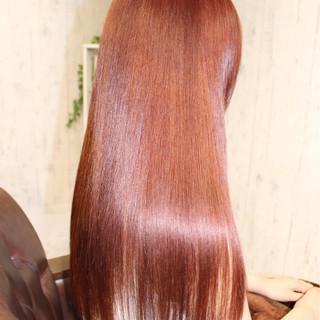 外国人風 モード ロング 大人かわいい ヘアスタイルや髪型の写真・画像