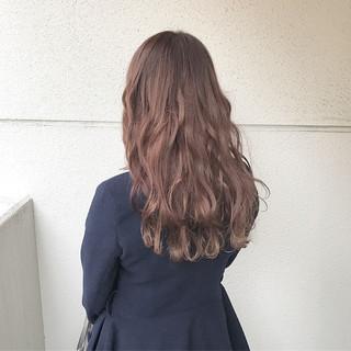 外国人風カラー ブリーチ ダブルカラー ロング ヘアスタイルや髪型の写真・画像