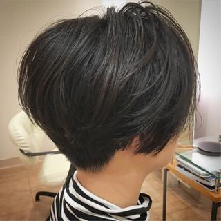 ショート コンサバ ショートヘア ショートボブ ヘアスタイルや髪型の写真・画像
