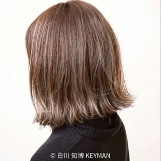 色気 ボブ ストリート 外ハネ ヘアスタイルや髪型の写真・画像
