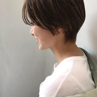 大人かわいい オフィス ショート デート ヘアスタイルや髪型の写真・画像 ヘアスタイルや髪型の写真・画像