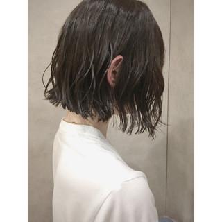 ナチュラル 透明感 ラフ 抜け感 ヘアスタイルや髪型の写真・画像