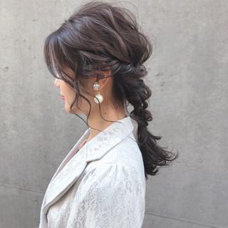 成人式 卒業式 フェミニン ヘアアレンジ ヘアスタイルや髪型の写真・画像 ヘアスタイルや髪型の写真・画像