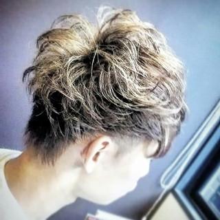 ショート 外国人風 派手髪 モード ヘアスタイルや髪型の写真・画像