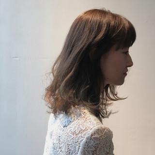 ストリート 外国人風 イルミナカラー ハイライト ヘアスタイルや髪型の写真・画像