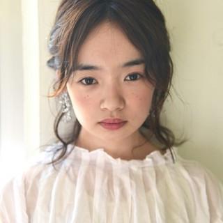 ショート ゆるふわ 簡単ヘアアレンジ 外国人風 ヘアスタイルや髪型の写真・画像