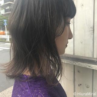 夏 ヘアアレンジ ナチュラル 涼しげ ヘアスタイルや髪型の写真・画像