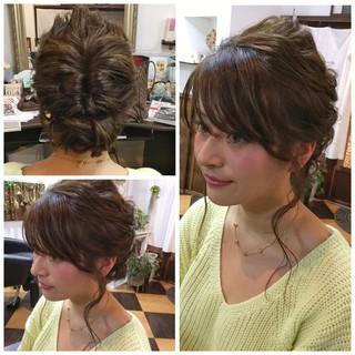 モテ髪 ショート 愛され ヘアアレンジ ヘアスタイルや髪型の写真・画像