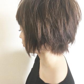 モード ラフ 無造作 こなれ感 ヘアスタイルや髪型の写真・画像
