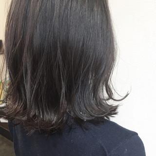 ミディアム ブルージュ 暗髪 ボブ ヘアスタイルや髪型の写真・画像 ヘアスタイルや髪型の写真・画像