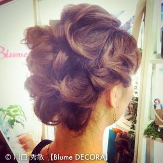 ヘアアレンジ 結婚式 ナチュラル まとめ髪 ヘアスタイルや髪型の写真・画像