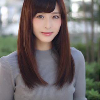 フェミニン ゆるふわ パーマ 前髪あり ヘアスタイルや髪型の写真・画像 ヘアスタイルや髪型の写真・画像