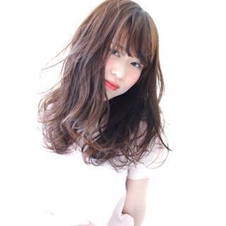 ショート アッシュ 簡単ヘアアレンジ セミロング ヘアスタイルや髪型の写真・画像