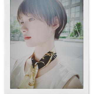 ショートボブ 阿藤俊也 ショートヘア フェミニン ヘアスタイルや髪型の写真・画像