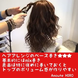 可愛い  ロング カール ヘアスタイルや髪型の写真・画像