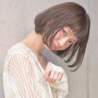 大人女子 ボブ おフェロ リラックス ヘアスタイルや髪型の写真・画像