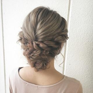セミロング くるりんぱ 大人女子 ショート ヘアスタイルや髪型の写真・画像 ヘアスタイルや髪型の写真・画像