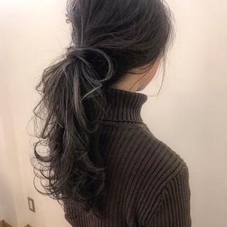 ヘアアレンジ 簡単ヘアアレンジ ロング 外国人風 ヘアスタイルや髪型の写真・画像 ヘアスタイルや髪型の写真・画像