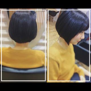 髪質改善トリートメント 黒髪 社会人の味方 オフィス ヘアスタイルや髪型の写真・画像
