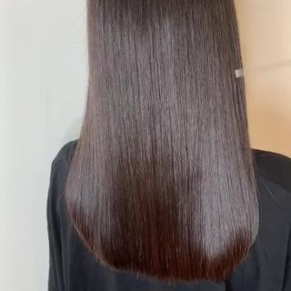 ロング 最新トリートメント トリートメント 髪質改善 ヘアスタイルや髪型の写真・画像