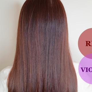 ツヤ髪 美髪 ナチュラル ロング ヘアスタイルや髪型の写真・画像
