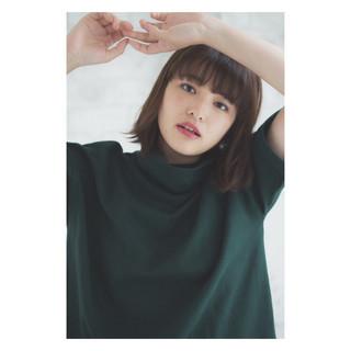 秋 アッシュ 色気 パーマ ヘアスタイルや髪型の写真・画像