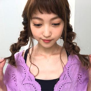 ヘアアレンジ フェミニン 簡単ヘアアレンジ ロング ヘアスタイルや髪型の写真・画像 ヘアスタイルや髪型の写真・画像